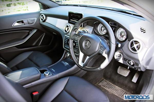 Mercedes GLA class interior (2)