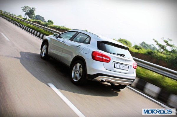 Mercedes GLA class road test review India (4)