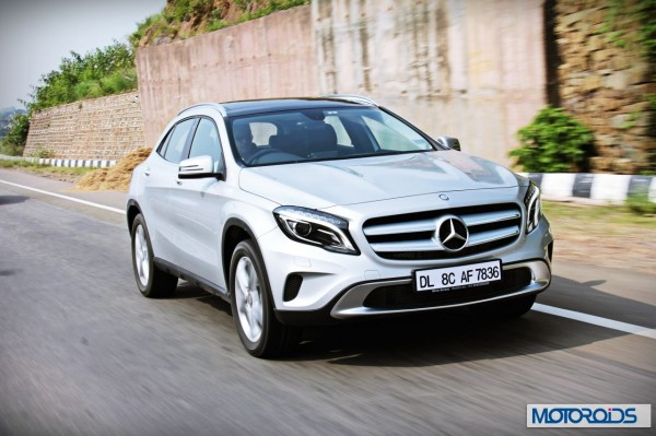 Mercedes GLA class road test review India (6)