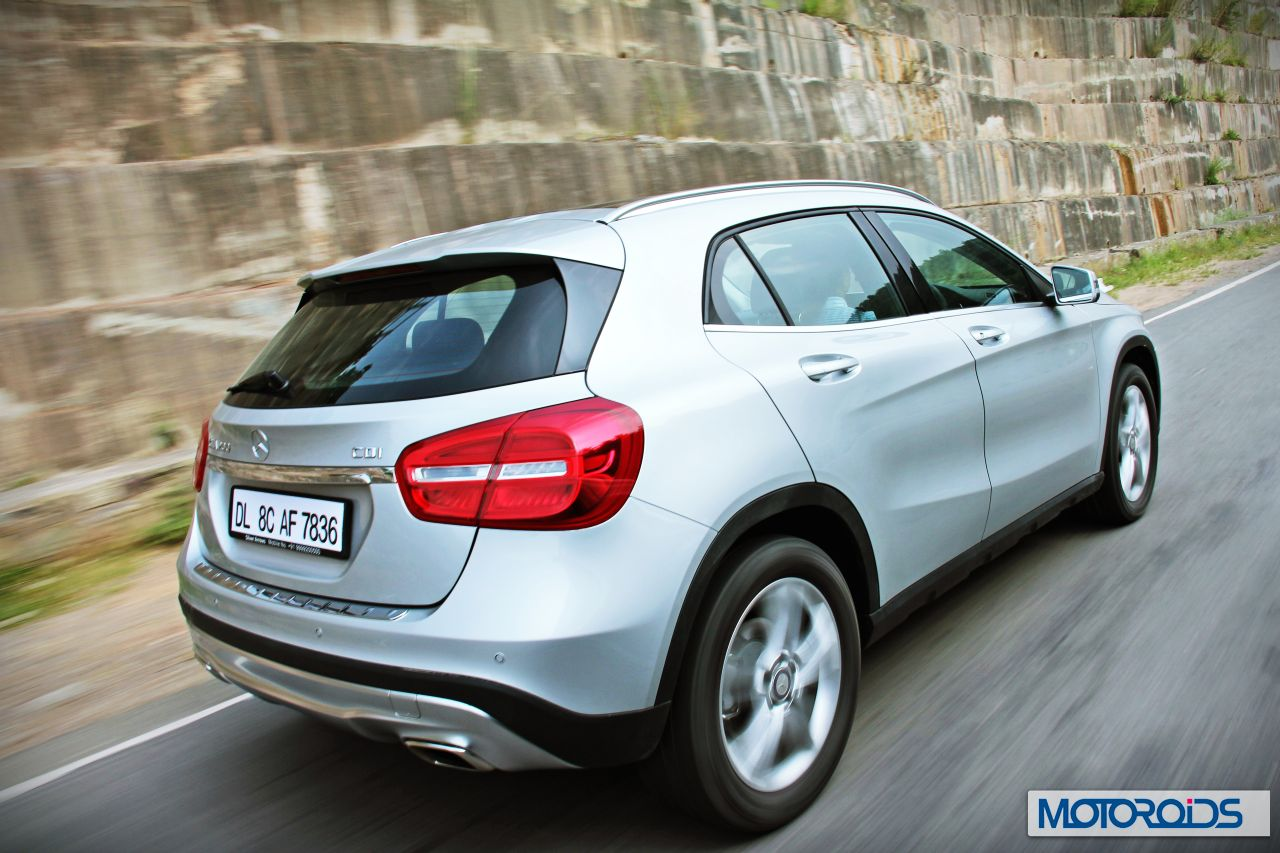 Mercedes inaugurates its suv test track at chakan images for Mercedes benz gla class india