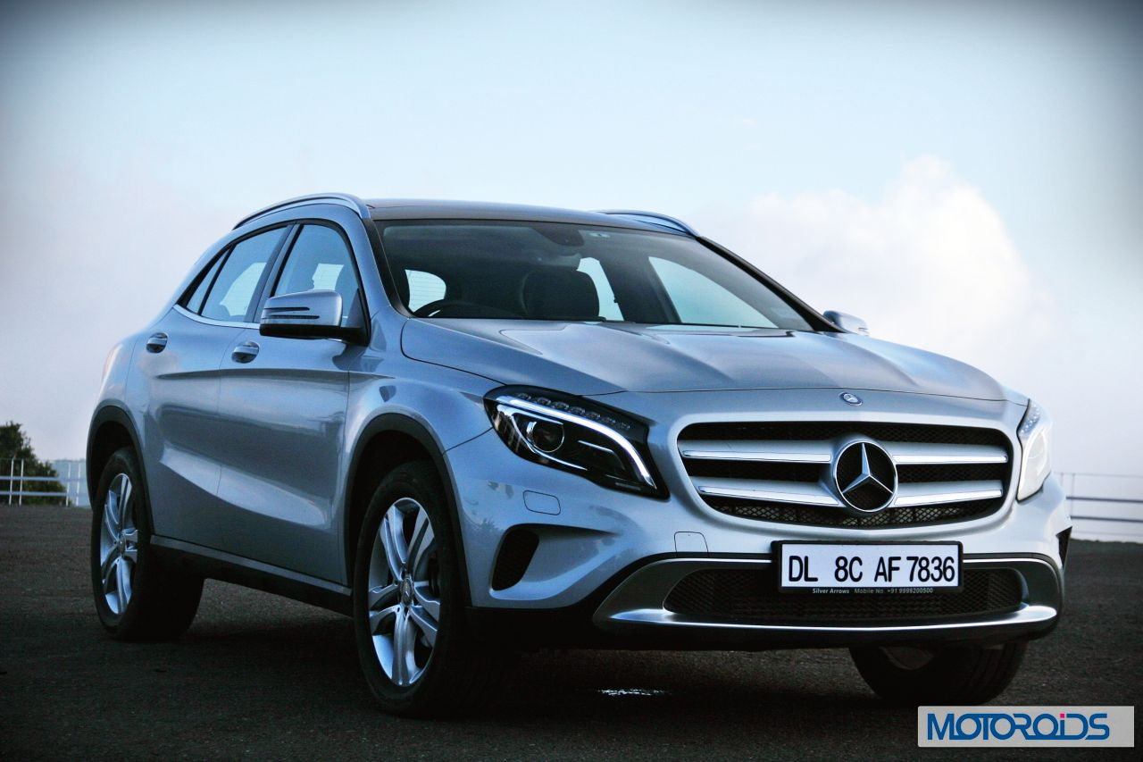 India made mercedes benz gla to embark on a world tour for Mercedes benz gla india