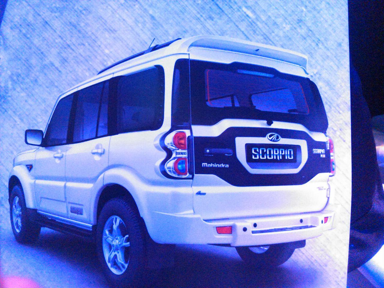 New 2014 Mahindra Scorpio Motoroids Com