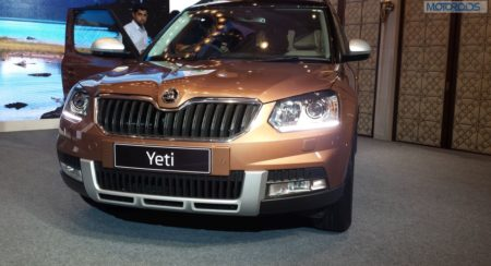 New 2014 Skoda Yeti launch (1)