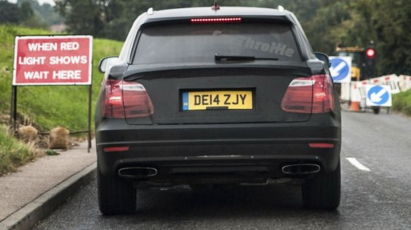 New Bentley SUV spotted (2)
