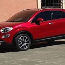 New Fiat 500X Small Crossover leaked