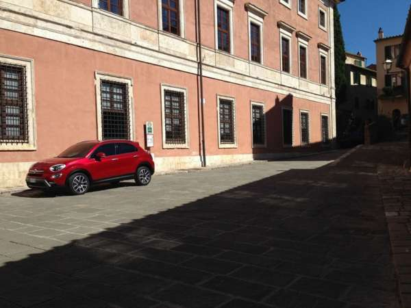 New Fiat 500X Small Crossover leaked (2)