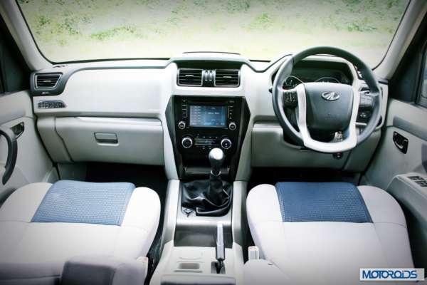 New Mahindra Scorpio Dashboard (3)