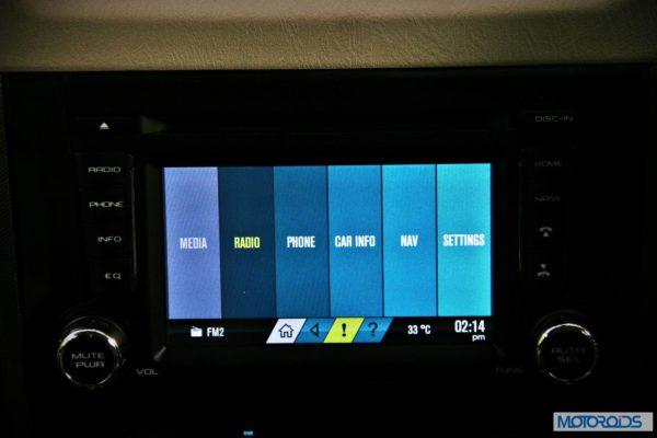 New Mahindra Scorpio Infotainment System (1)