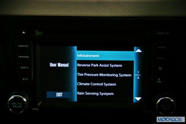 New Mahindra Scorpio Infotainment System (19)