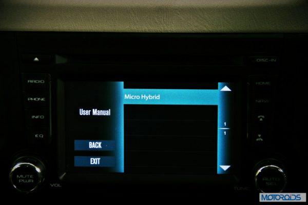 New Mahindra Scorpio Infotainment System (20)