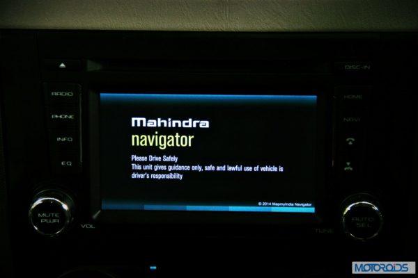 New Mahindra Scorpio Infotainment System (9)