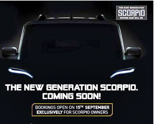New Mahindra Scorpio Launch on the 25th September