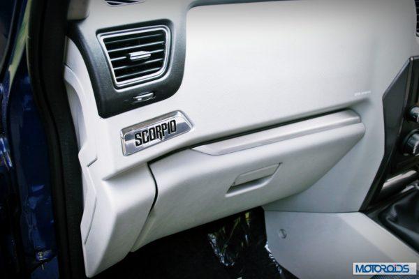 New Mahindra Scorpio glove-box (1)