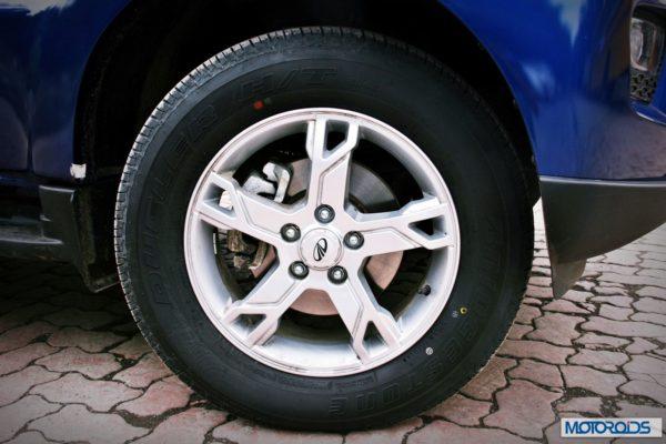 New Mahindra Scorpio wheel