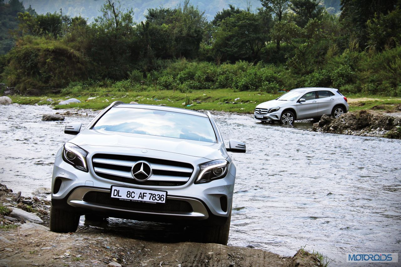 New mercedes benz gla live from the launch motoroids for Mercedes benz gla india