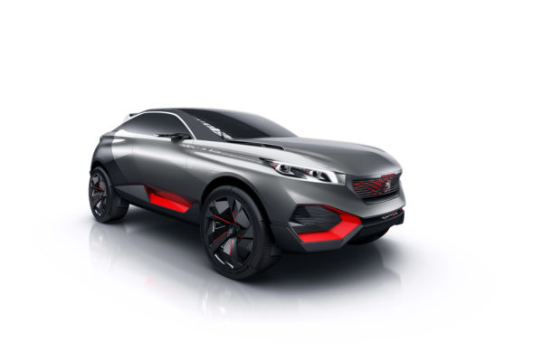 Peugeot Quartz Hybrid Crossover Concept Images and Details (3)