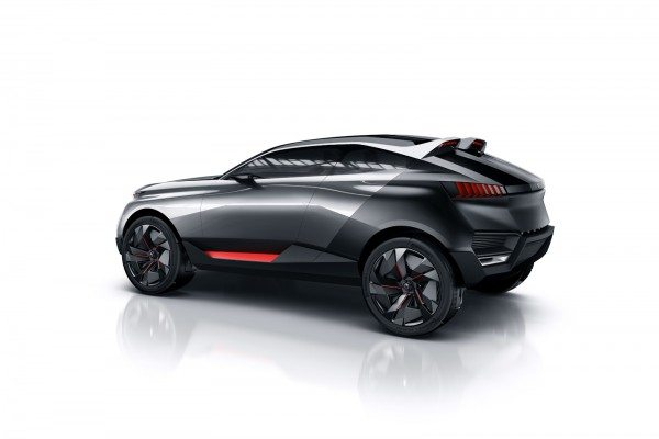 Peugeot Quartz Hybrid Crossover Concept Images and Details (4)