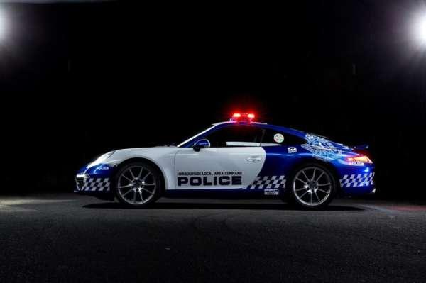 Porsche 911 Carrera cop car (6)