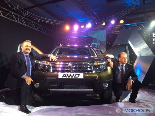 Renault Duster AWD launch
