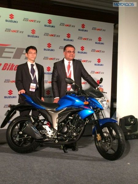 Suzuki Gixxer bike revealed