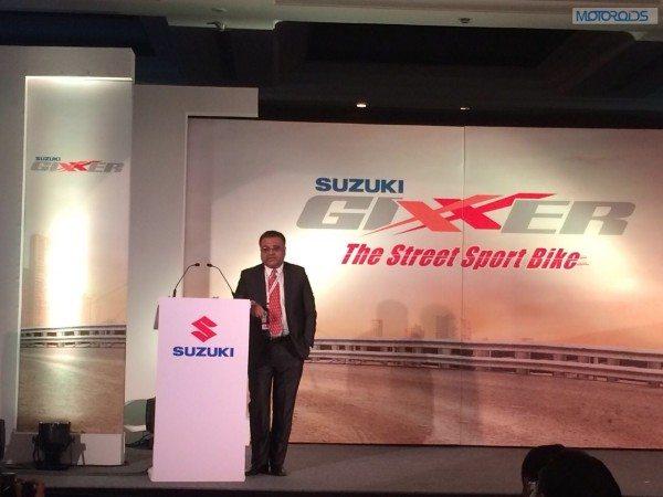 Suzuki Gixxer launch (1)