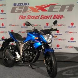 Fully faired Suzuki Gixxer 155 to be named as 'Suzuki Gixxer SLK'
