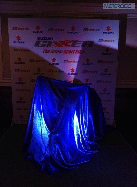 Suzuki Gixxer launch event