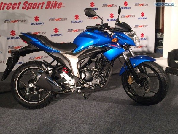 Suzuki Gixxer launch stills (3)
