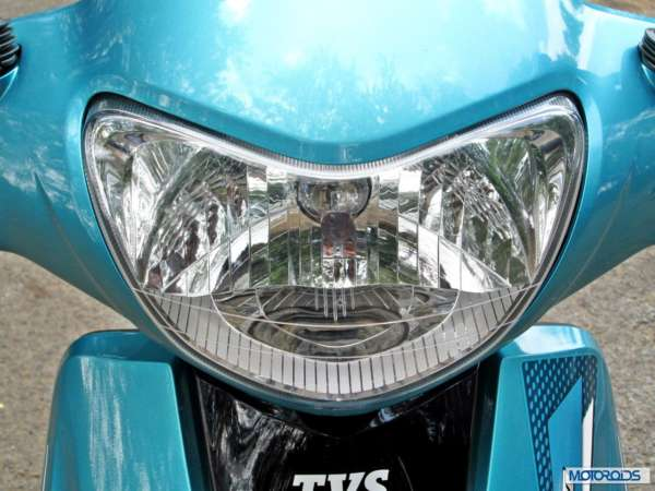 TVS Scooty Zest 110 Headlight