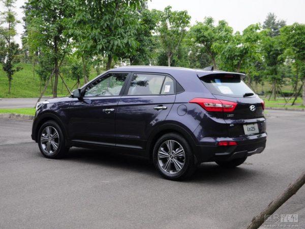 Upcoming Hyundai ix25 detailed images (1)