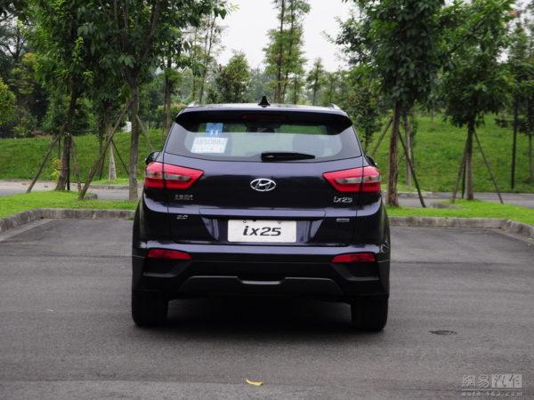 Upcoming Hyundai ix25 detailed images (2)