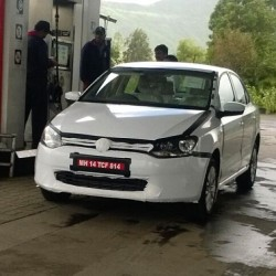 SPIED: Volkswagen Vento diesel DSG automatic spotted