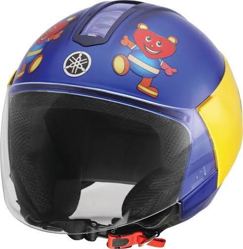 Yamaha Encourages Helmet Use by Pillion Riders; Launches Customised Helmets for Women and Children (2)