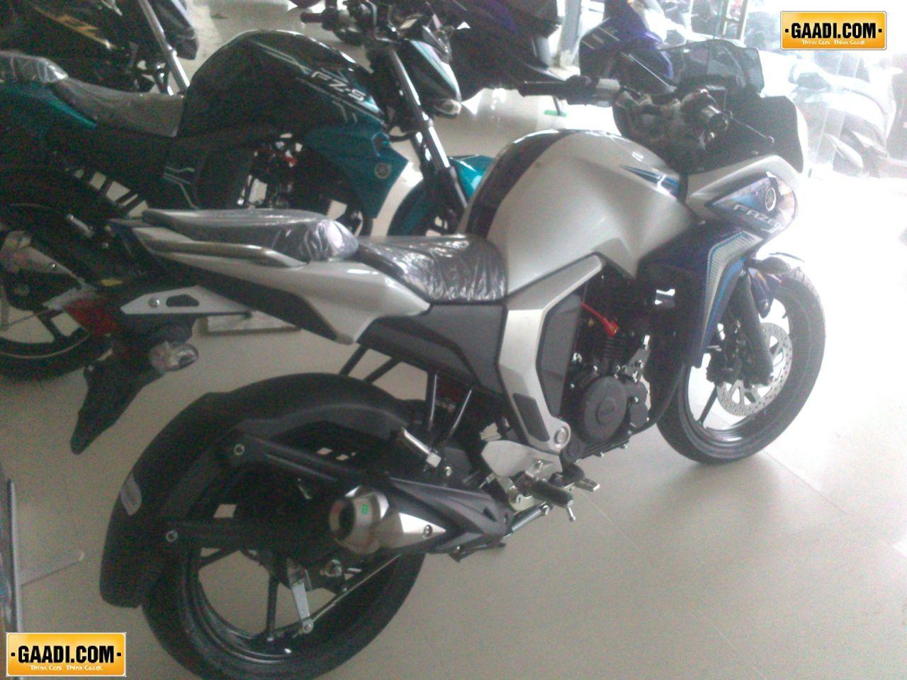 Yamaha Fazer FI 20 Spotted At Gurgaon Dealership Priced