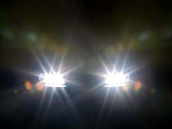 driving in the night
