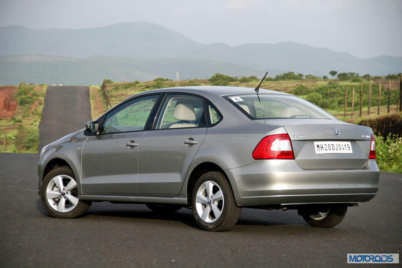 New 2014 Skoda Rapid India Facelift