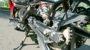 2014-Hero-MotoCorp-Karizma-ZMR-Review-Swingarm-and-Chain-Sprocket
