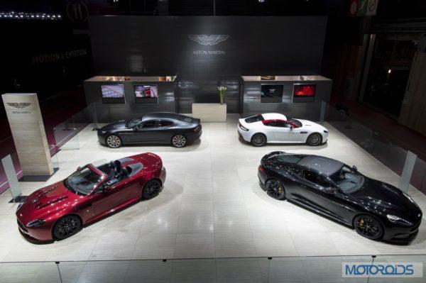 Aston Martin at Paris Motor Show-Image (1)