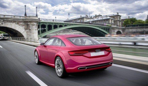 Audi TT Sportback Concept rear