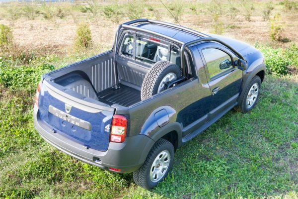 Dacia Duster Pick-Up Launched 500 units to be built (5)