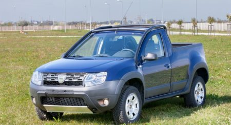 Dacia Duster Pick-Up Launched 500 units to be built (6)