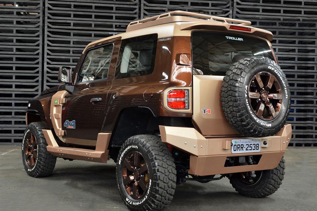 Ford Troller T4 Concept 2 Motoroids Com