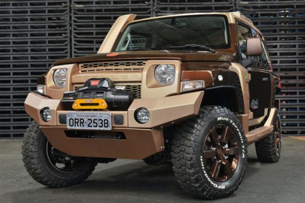 Ford Troller T4 Concept