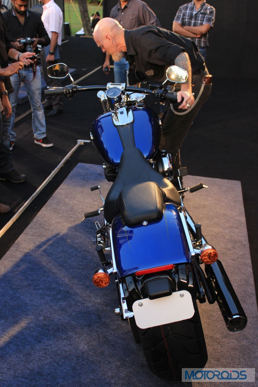 Along with new products for India, Harley-Davidson is also adding