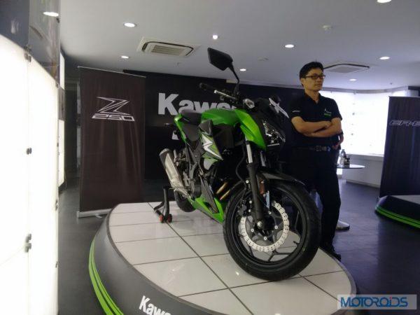 Kawasaki-Z250-India-Launch