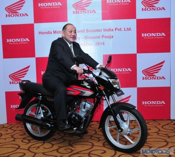 Keita Muramatsu, President and CEO, HMSI at the 4th plant Bhoomi Pujan in Gujarat