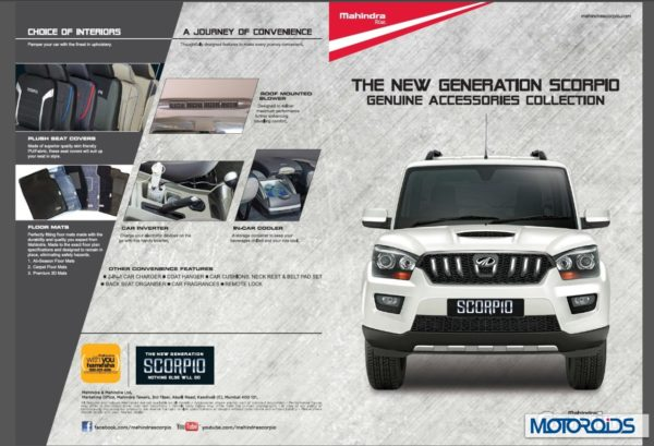 Mahindra Scorpio Accessories
