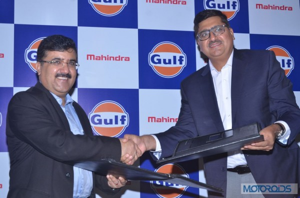 Mahindra and Mahindra - Gulf Oil Lubricants India - Partnership (1)