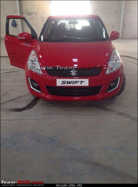 Maruti Suzuki Swift facelift (3)