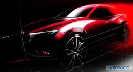 Mazda CX-3 To Debut At LA Motor Show
